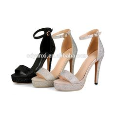 09e52bedd721a8 Fashon Latest Simple Design Ladies Fancy Flat High Heel Sandals