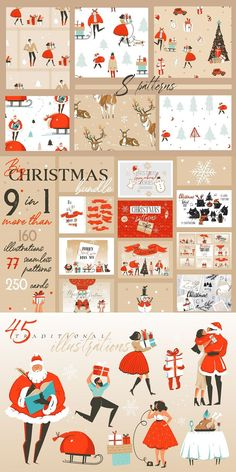 I would like to present to your attention my Christmas bundle, which consists of 9 original winter products. Here you can find everything for yourself to make your design cozy and with the spirit of Christmas and New Year! Enjoy #Christmas #Cliparts #graphicdesign #modern #Photoshops #Pin #Pinterest #Creative #Ideas #New Merry Christmas And Happy New Year, Modern Christmas, Christmas Gifts For Her, Christmas Toys, Christmas Themes, Holiday Decor, Make Your Own Stickers, Graphic Design Templates, Holly Leaf