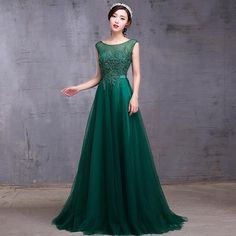 Green Lace Long Evening Dresses New Arrival Fashion Banquet Elegant Backless Prom Dress Plus Size Mother of The Bride Dress