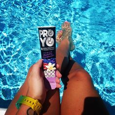 Pool side ProYo! ProYo is a high-protein frozen yogurt that delivers real nutritional benefits like 20 grams of protein, probiotics, and fiber, as well as, convenience, & above all, great taste.