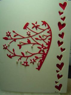 CAS156 Heart by crazysuziestamper - Cards and Paper Crafts at Splitcoaststampers