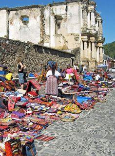 market-in-Antigua-Guatemala>>> I have been there!!! In love with Guatemala and can't wait to go back!
