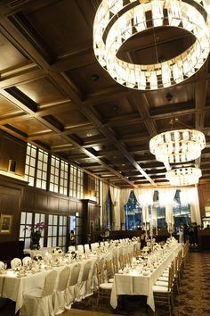 Michael and Emily's Elegant Navy and White Wedding at Churchill Room, The Tanglin Club. #singapore #singaporewedding