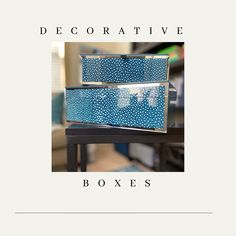 I love using decorative boxes to organize my home office. They are great for photos, keepsakes, small office supplies, phone chargers and cords… I usually find the best ones at Homegoods. #homeoffice #homeofficedecor #homeofficeideas #keepsakes #officestyle #getorganized