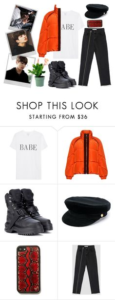 """TAKE CARE OF YOU"" by illeniumqueen on Polyvore featuring moda, Polaroid, Ganni, Puma e Manokhi"