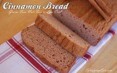 Cinnamon Bread (Grain-Free, Nut-Free, Sugar-Free & Low-Carb)