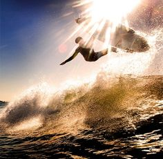 Surfing with the sun