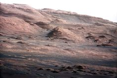 Curiosity Rover's View of Mount Sharp Layers  Credit: NASA/JPL-Caltech/MSSS