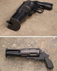 OTs-62 Revolver Shotgun