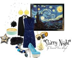 """""Starry Night"" by Vincent Van Gogh"" by theekissoflife on Polyvore"