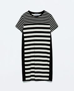ZARA - WOMAN - COMBINED STRIPED DRESS