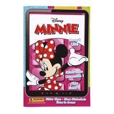 Disney Minnie Sticker Collections! Organize all of your stickers in the official sticker album and on the back of every sticker is the number that will tell you where it goes. Get your friends collecting and race to see who can fill their album first!