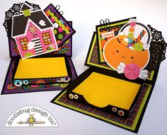 Booville Collection: Spook-tacular Note Holders by Karen Hanson