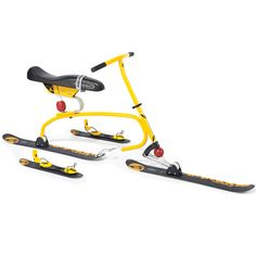 The Snow Cycle - Hammacher Schlemmer - Or, for a more Double-oh sevenish escape...