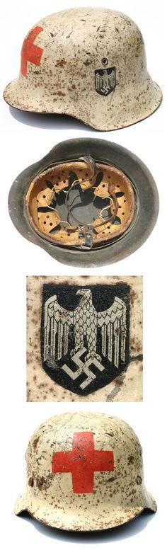 WWII Deutsches Rotes Kreuz Helmet