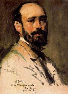 Ignacio Pinazo Camarlench - Autorretrato 10