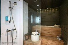Myynnissä - Luhtitalo, Pohtola, Tampere:  #sauna #oikotieasunnot #kylpyhuone Saunas, Interior Decorating, Bathtub, Bathroom Stuff, Wellness, Beauty, Decorating Ideas, Standing Bath, Bathtubs