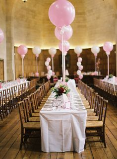 Gorgeous Balloon Tablescape