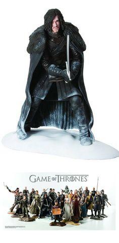 Game of Thrones Jon Snow Figur | Fanartikel GoT | Geschenkidee für Game of Thrones Fan