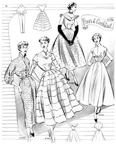 2002 best 1950 patterns 3 images in 2019 1950s fashion fashion Eyeglasses Sketches french fashion retro fashion adult coloring coloring pages french language vintage patterns fashion drawings dress patterns product description