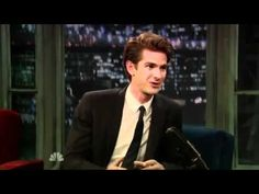 Andrew Garfield on Late Night With Jimmy Fallon (09-27-2010)....... OH. MY. GOSH!! I didn't know he had an accent! That's so cute!!!!!