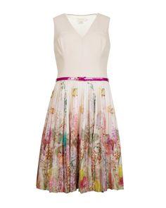Wispy meadow print dress - Light Pink | Dresses | Ted Baker