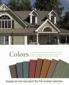 House colorsMetal Roof combination Exterior Home Ideas