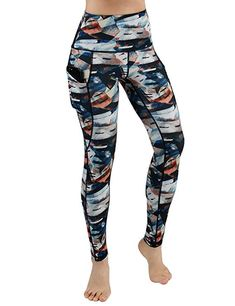 312f0918b3c5e ODODODOS High Waist Out Pocket Printed Yoga Pants Tummy Control Workout  Running 4 Way Stretch Yoga Leggings,FineArt,XX-Large #accessories # womensclothing ...