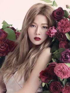 Hyuna for Allure September Issue
