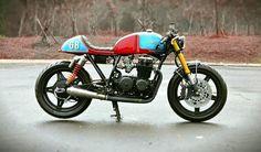 RE-PIN IT!  1981 CB650 cafe racer by Studio Motor