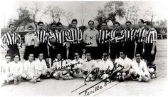 Equipos de fútbol: SEVILLA contra ATHLETIC DE MADRID 08/12/1917