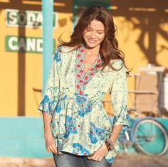 Adelaide Tunic :: Sundance, super cute