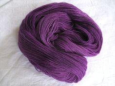 ♥ Sockenwolle 100g ♥ Schurwolle 75% ♥ Handgefärbt ♥ Made by Aleinung ♥ (N024)