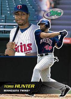 ddd48d3d99e torii hunter trading cards | Torii Hunter 2027 - Minnesota Twins Mlb Twins,  Minnesota Twins