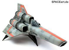 Battlestar Galactica: Colonial Viper, Modell-Bausatz ... http://spaceart.de/produkte/bsg001.php
