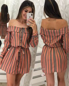 Swans Style is the top online fashion store for women. Shop sexy club dresses, jeans, shoes, bodysuits, skirts and more. Chic Outfits, Dress Outfits, Summer Outfits, Summer Dresses, Cute Dresses, Casual Dresses, Short Dresses, Hijab Fashion, Fashion Dresses