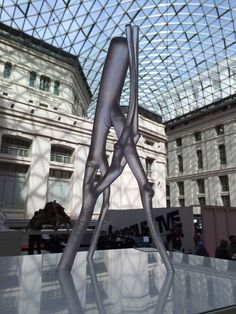 3D Printed sculpture. Madrid 3D Printing Show