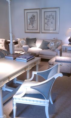 Hickory Chair- Amy Vermillion Interiors...Don't really know where to put this chair, but I love it.