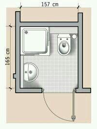 testowy: 13 czyli o łazienkach w domu. Bathroom Layout Plans, Small Bathroom Layout, Bathroom Design Layout, Bathroom Floor Plans, Bathroom Design Luxury, Small Toilet Room, Small Bathroom With Shower, Bathroom Red, Tiny House Bathroom