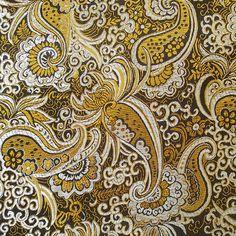 Stoff Ornamente - 150 x 90 CM !  Herrliche Brokat Stoff gewebt feine - ein Designerstück von e_bou1 bei DaWanda