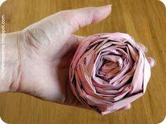 ideeënblog: krant wordt rozen