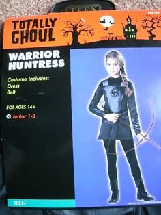 Mixed Items and Lots 175649: Girl S Dress Up Halloween Costume *Warrior Huntress* Teen Junior Jr 1-3 New W Pg -> BUY IT NOW ONLY: $39.99 on eBay!
