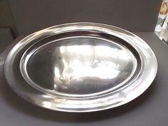Wilton Armetale Oval Platter Large Serving  Tavern