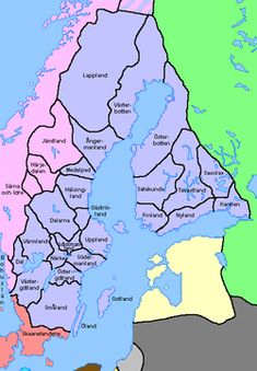 Swedish map today sweden pinterest landskap i sverige wikipedia gumiabroncs