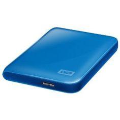Western Digital WDBACY5000ABL My Passport Essential 500GB externe Festplatte (6,4 cm (2,5 Zoll) USB 3.0) blau Sonderkonditionen | Externe Festplatte 2 5