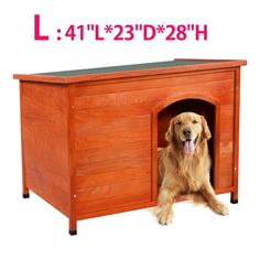 cat home with balcony - Hot Sale! Wood Dog House Pet Shelter Large Kennel Weather Resistant Home Outdoor Ground (Large) * To view further for this item, visit the image link. (This is an affiliate link) Outdoor Cat Shelter, Outdoor Shelters, Outdoor Dog, Wood Dog House, Large Dog House, Shelter Dogs, Animal Shelter, Pet Dogs, Pets