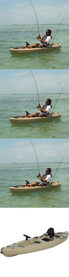 Kayaks 36122: Lifetime, 10 , 1-Man Muskie Angler Kayak, Tan, With Bonus Paddle -> BUY IT NOW ONLY: $337.08 on eBay!