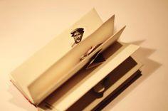 Libri Finti Clandestini: il Libretto dei Tipografi un libro pop-up (riciclato) come omaggio all'arte della tipografia