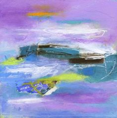 "Saatchi Art Artist Linda O'Neill; Painting, ""Clarity"" #art #abstractart"