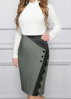 Love this skirt Skirt Outfits, Dress Skirt, African Fashion Skirts, Semi Formal Outfits, Formal Dresses, Hijab Fashion, Fashion Outfits, Dress Making Patterns, Fashion Details